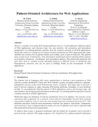 list of software pattern oriented architecture for web applications pdf download