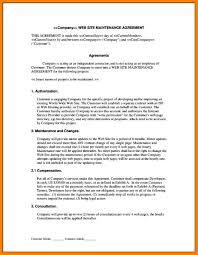 7 service agreement contract lease template