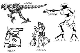 system robot sketches 1 by xiotax on deviantart