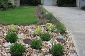 Plants For Front Yard Landscaping - rock oak deer driveway landscaping completed