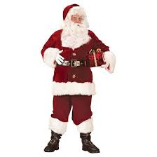 s santa suit deluxe costume large target