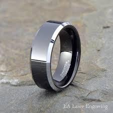 Mens Wedding Rings Tungsten by Tungsten Vs Titanium Accessory Comparison