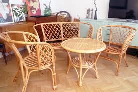 banquette rotin vintage salon en rotin vintage 70s tbe u2013 luckyfind
