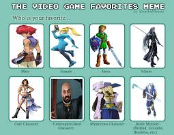 Video Clip Memes - video game characters meme by hollowty1080 on deviantart