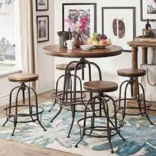 pub style dining table bar pub table sets for less overstock com