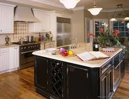black distressed kitchen island distressed black kitchen cabinets home design ideas and pictures