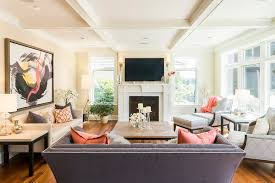 seattle ethan allen sectional living room transitional with