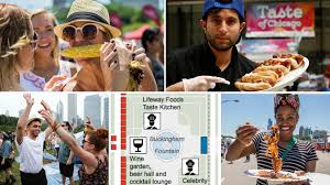 Taste Of Chicago Map Taste Of Chicago 2017 Guide Check Out Menus Maps Performances