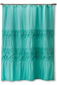 Turquoise Shower Curtains Teal Boho Boutique Textured Shower Curtain Everything Turquoise