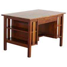 Arts And Craft Bookcase Lovely Arts U0026 Crafts Mission Style Oak Library Table With