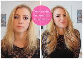 Color Hair Extension by Customizing Bellami Hair Extensions Color Cut U0026 Style Youtube