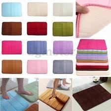 Memory Foam Rugs For Bathroom by Bathroom Rugs Ebay