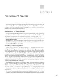 chapter 3 procurement process procuring and managing