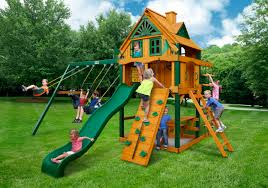 Backyard Swing Sets Canada Outdoor Fantastic Gorilla Playsets For Chic Kids Playground Ideas