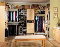 graceful decorating ideas with bedroom closet storage systems