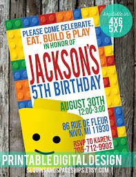 lego birthday invitation free favor tags lego birthday lego