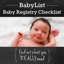 stores with baby registry personalized baby registry checklist cool just tried it