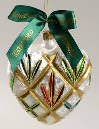 waterford holiday heirloom ornaments lismore heart multicolor