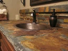 slate tile kitchen backsplash interior amazing slate backsplash subway tile kitchen