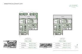 Jade Brickell Floor Plans by Le Parc At Brickell U2014tlt Realtors