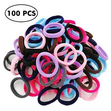 ponytail holders thick seamless cotton hair bands simply hair ties