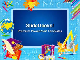 Frame Education Powerpoint Template 0610 Powerpoint Themes Educational Powerpoint Themes