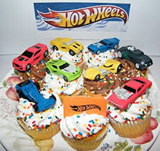 sports cake toppers hot wheels race car sports car high tech car