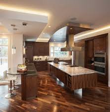 impressive kitchen soffit in kitchen modern with two island