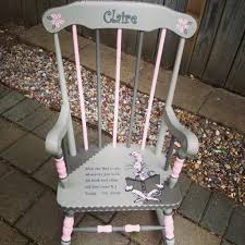 Little Tikes Classic Rocking Chair Pink Hand Painted Dr Seuss Kids Rocking Chair Girls Room Was Done In