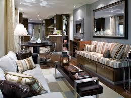 Striped Sofas Living Room Furniture by Interior Handsome Image Of Candice Olson Home Interior Living