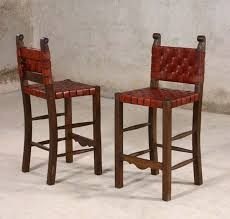 leather strap western barstools western barstools and bars free