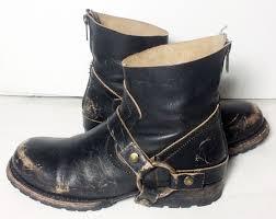 short black motorcycle boots freebird hatchet black leather short ankle motorcycle boots women s