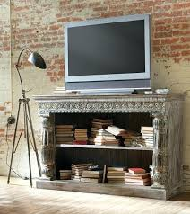 Corner Tv Cabinets For Flat Screens With Doors by Tv Stand International Concepts Unfinished Mission Corner Tv