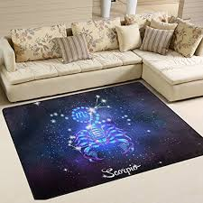 Constellation Rug Scorpio Home Decor A Room For The Scorpion Funk This House