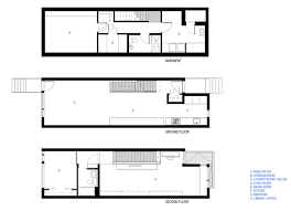 Narrow Townhouse Floor Plans 3235 Best Narrow Lot Compact House Plans Images On Pinterest