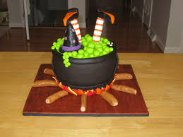Halloween Witch Cake by Multiplicity Halloween Cauldron Cake