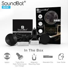 soundbot sb361 fm radio wireless car kit soundbot