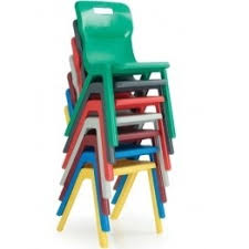 titan stackable plastic chairs furniture for sale