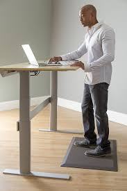 imprint uluspro mat deluxe standing desk anti fatigue mat brown best rated standing desk mat by forbes and wirecutter s