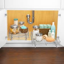 under cabinet storage shelf lynk roll out cabinet organizer pull out drawer under cabinet