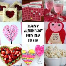kids party ideas 20 valentines day party ideas for kids one