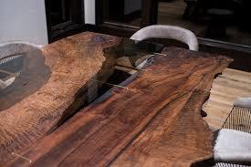 Walnut Slab Table Furniture U2014 Taylor Donsker Design