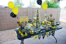 bumblebee party supplies bumble bee party a to zebra celebrations