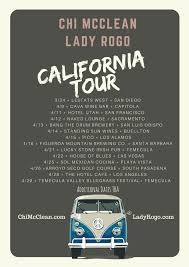 california spring tour with lady rogo chi mcclean chi mcclean