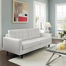 White Leather Sofa Beds Best 25 White Leather Sofas Ideas On Pinterest White Leather