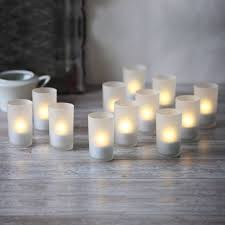 lights flameless candles tea lights votives set of 12