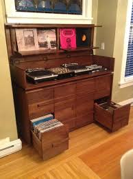 lp record cabinet furniture custom made sorenson record cabinet man cave pinterest record