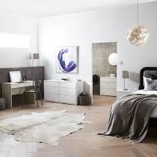 John Lewis Bedroom Furniture Uk Buy John Lewis Napoli Gloss 6 Drawer Chest White John Lewis