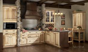 Merrilat Kitchen Cabinets Merillat Masterpiece Laredo In Hickory Natural Merillat