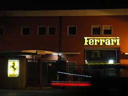 ferrari factory building ferrari factory night shot mgt design